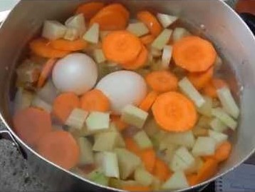 água de legumes