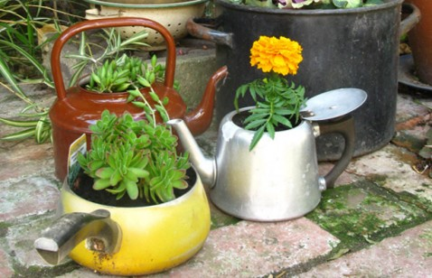 Jardim-reciclado