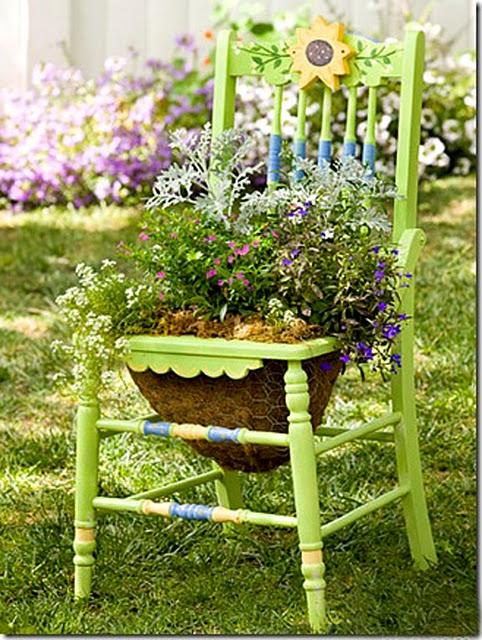 cadeira de jardim