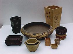 vasos para bonsai